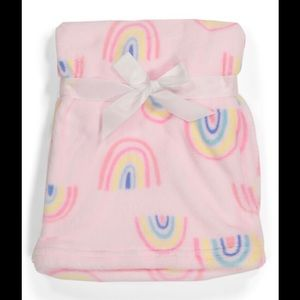 Baby by Bon Bebe Rainbow Plush Baby Blanket